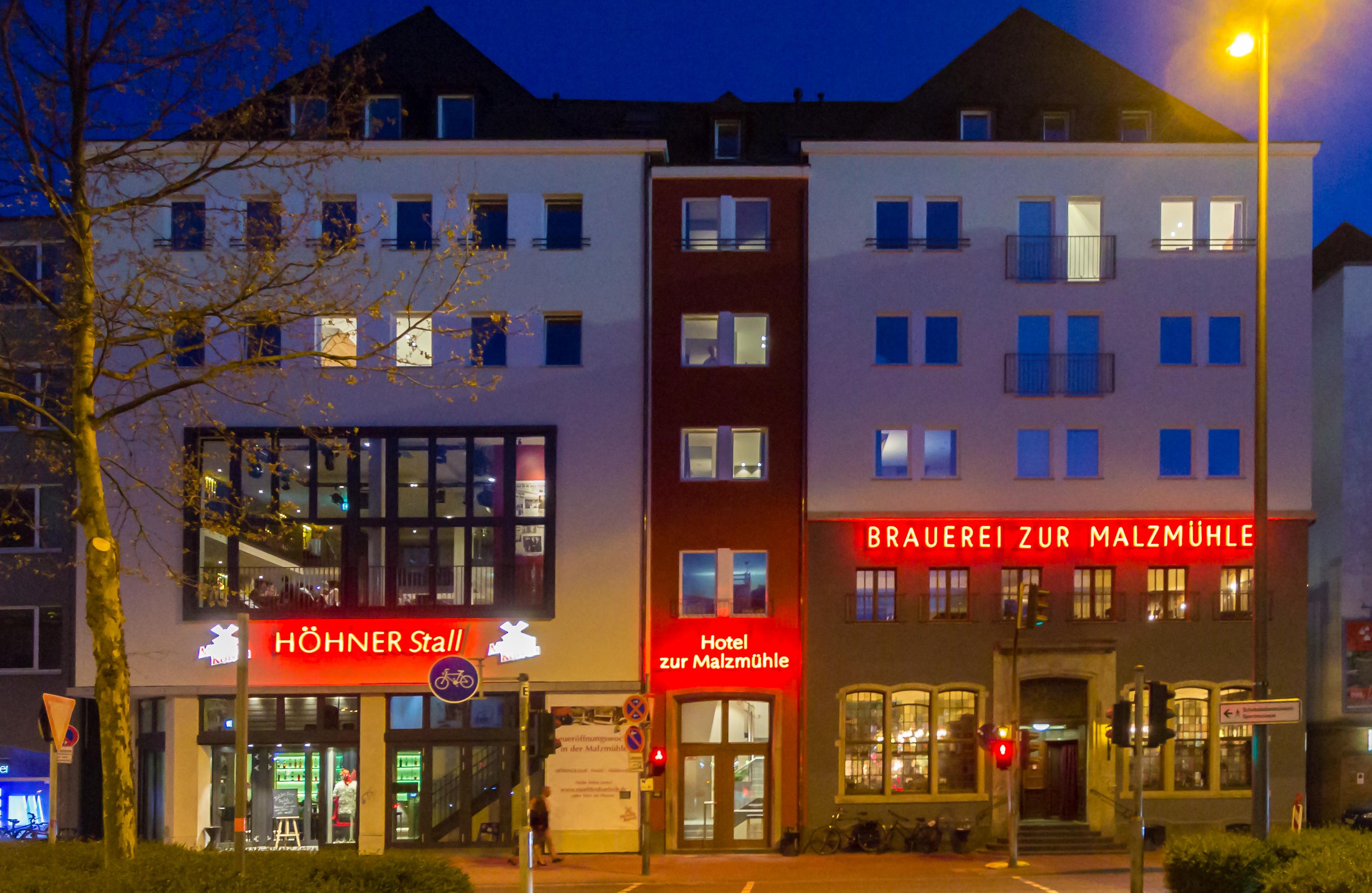 File:Brauerei zur Malzmühle mit Höhner Stall und Hotel zur ...