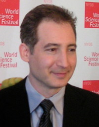 Brian Greene på invigningen av World Science Festival år 2008