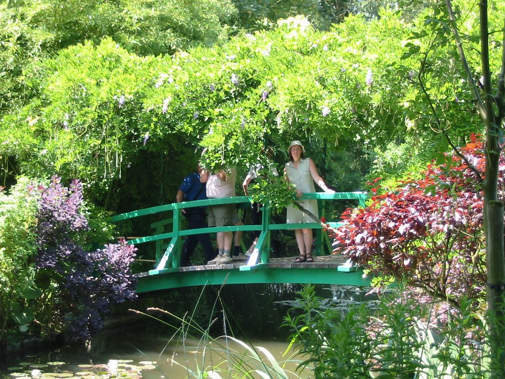 File bridge garden monet - Livre le jardin de monet ...