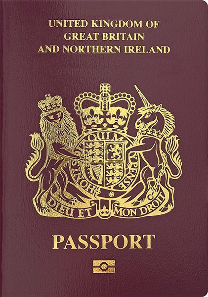 British passport - Wikipedia