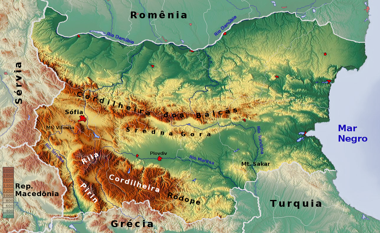 FileBulgaria Topographic Map Portuguesepng Wikimedia Commons - Bulgaria map