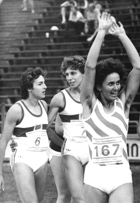 east german athletes pregnant