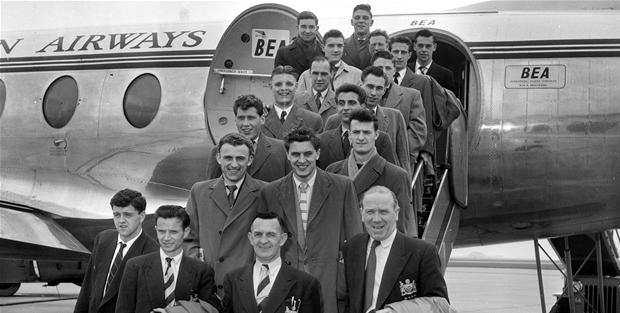 Busby babes 1955