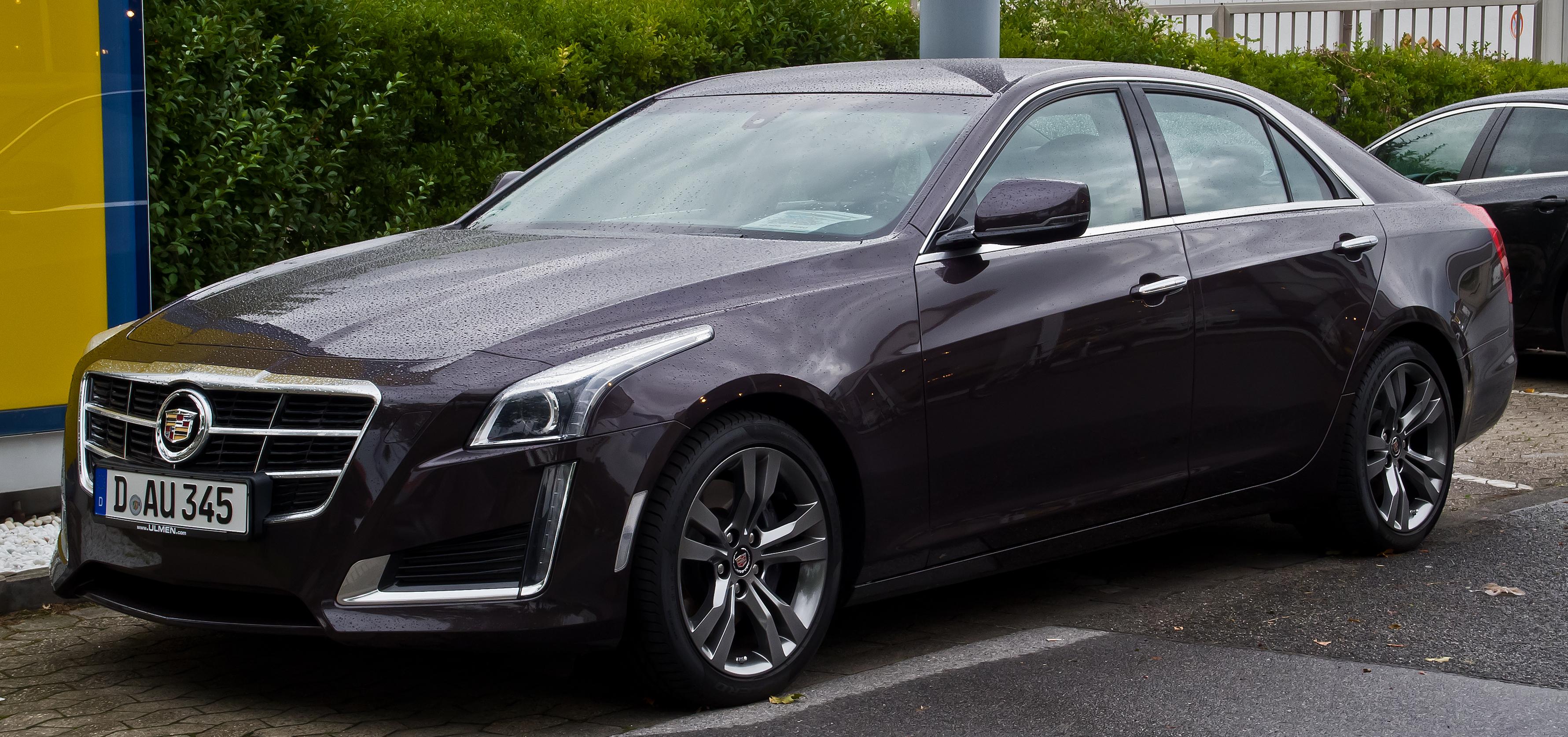 2014 Cadillac Cts Blacked Out >> Cadillac CTS - Wikiwand
