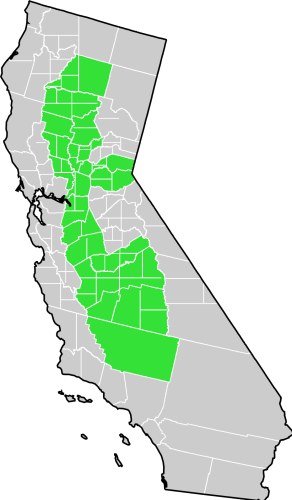 FileCalifornia CentralValley county mappng Wikimedia Commons
