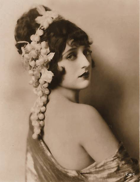 File Carmel Myers With Decorative Grape Headdress 2 Jpg