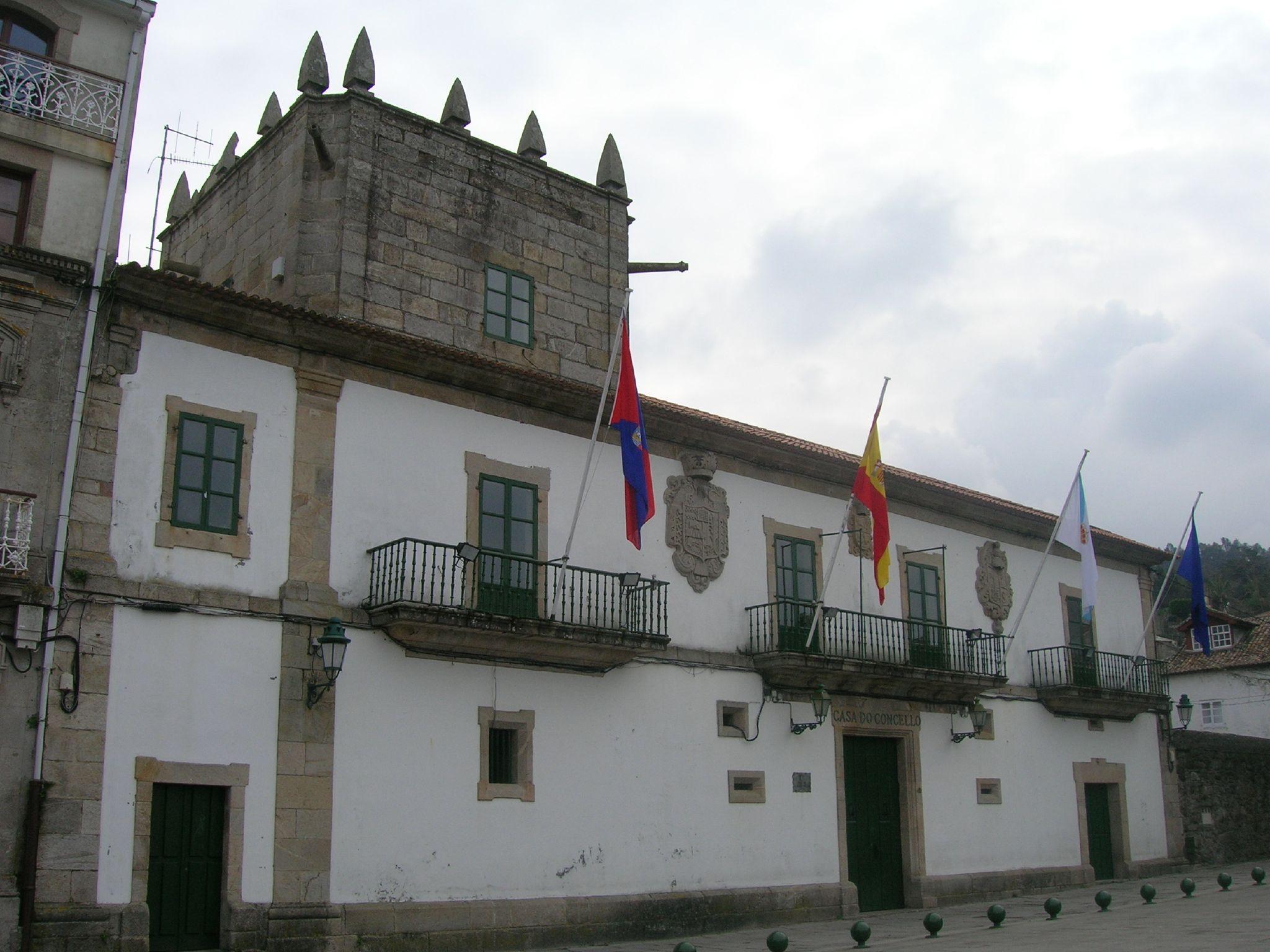 File casa do concello de baiona pontevedra galicia - Mi casa pontevedra ...
