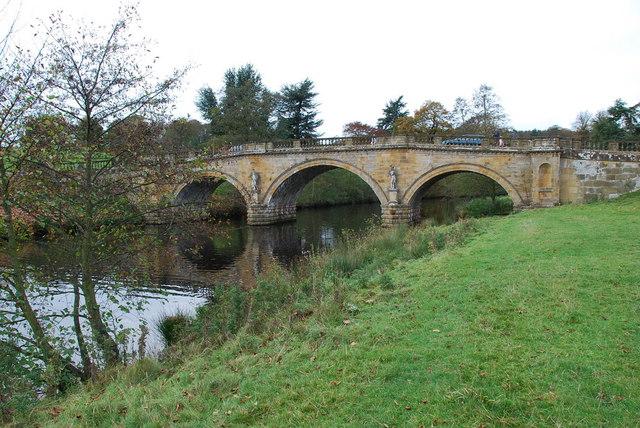 Chatsworth Park Bridge - geograph.org.uk - 1567813