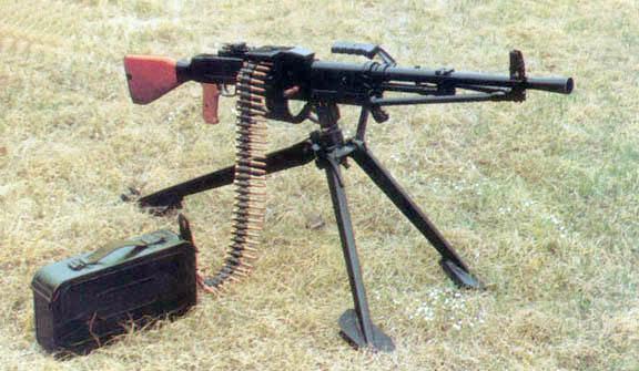 جميع الأسلحة المستخدمة من طرف الجيش الجزائري ChineseType672MG