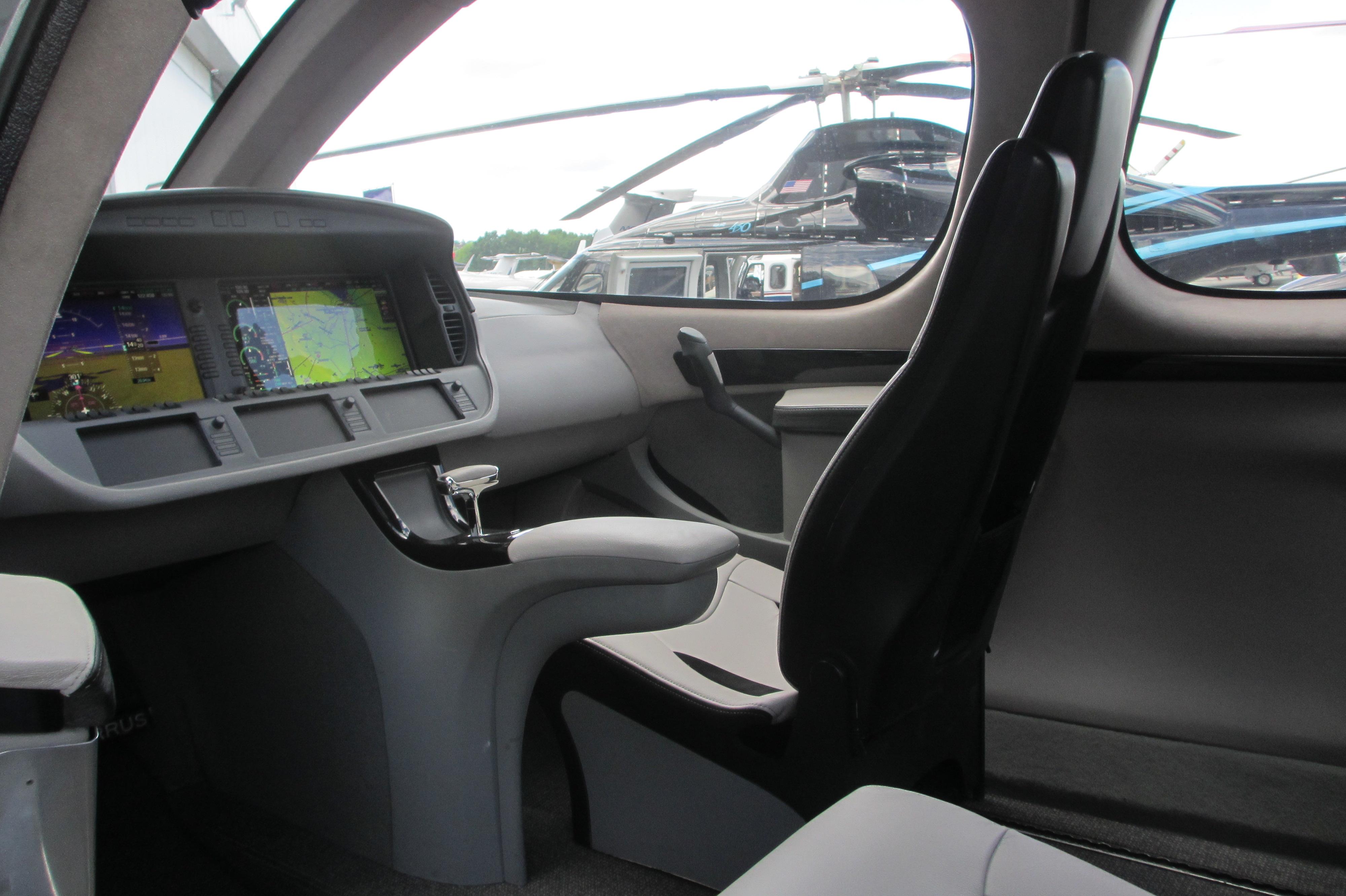 Private Plane Interior Design