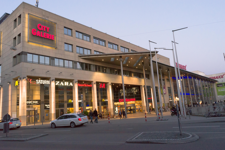 City Galerie Augsburg Wikipedia