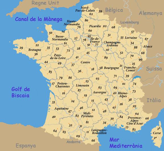 Llista de departaments francesos per n mero viquip dia l 39 enciclop dia lliure - La carte de l empire ottoman ...