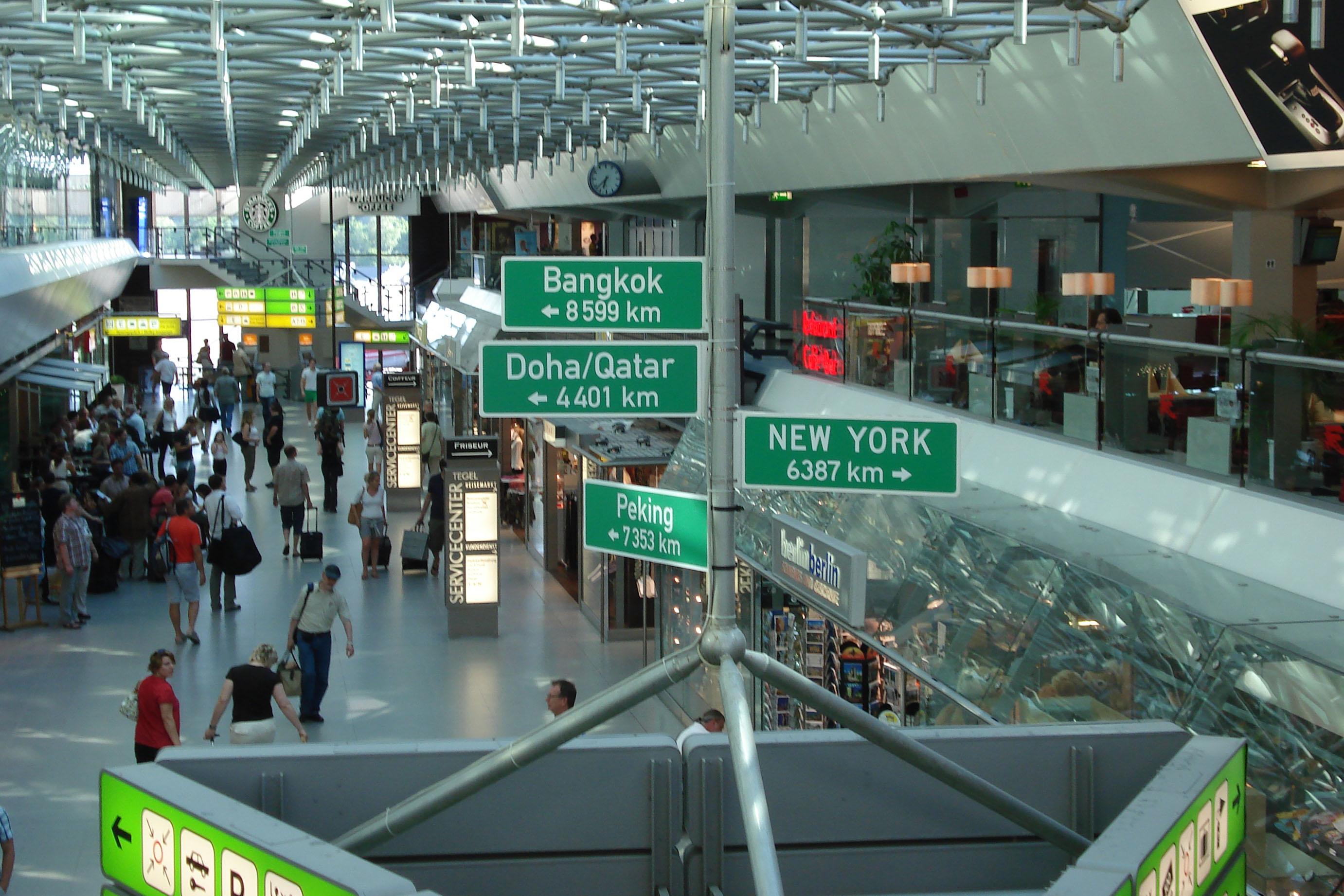 Aeroporto Tenerife Sud : Berlin tegel airport