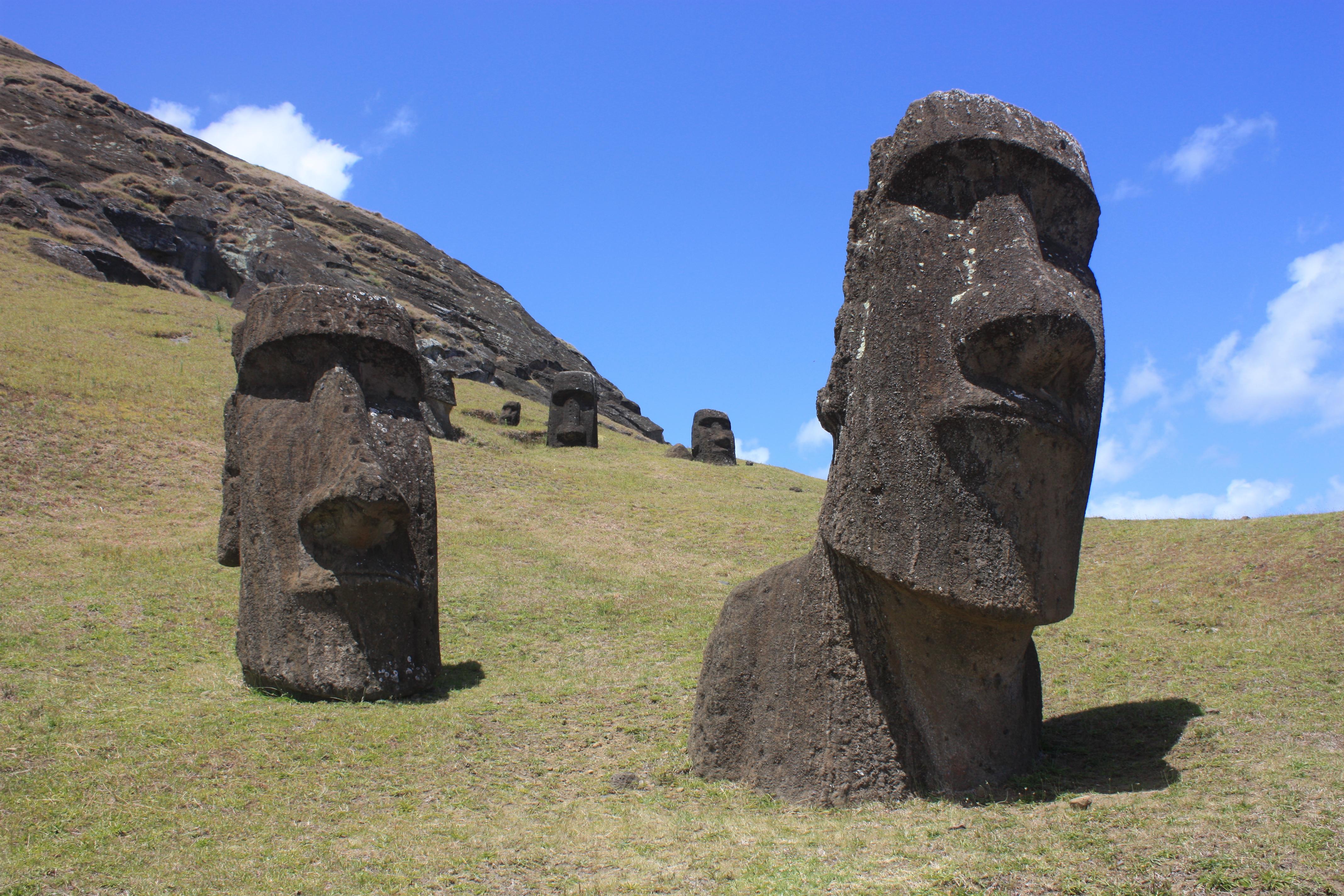 Easter Island Heads Date