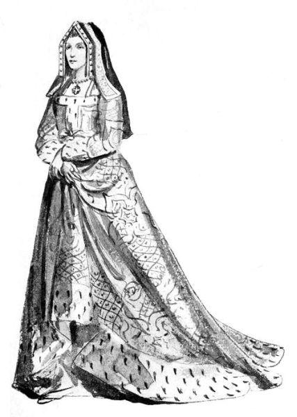 Elizabeth of York, 15th century costume.jpg