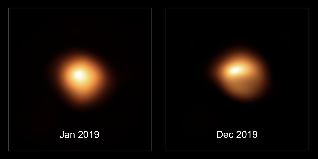 Doch keine Supernova? Beteigeuze wird wieder heller! 2