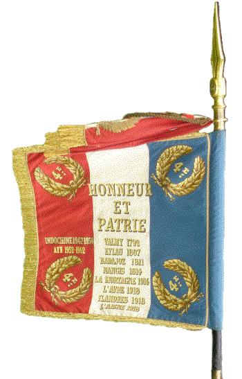 Etendard du 4e régiment de dragons
