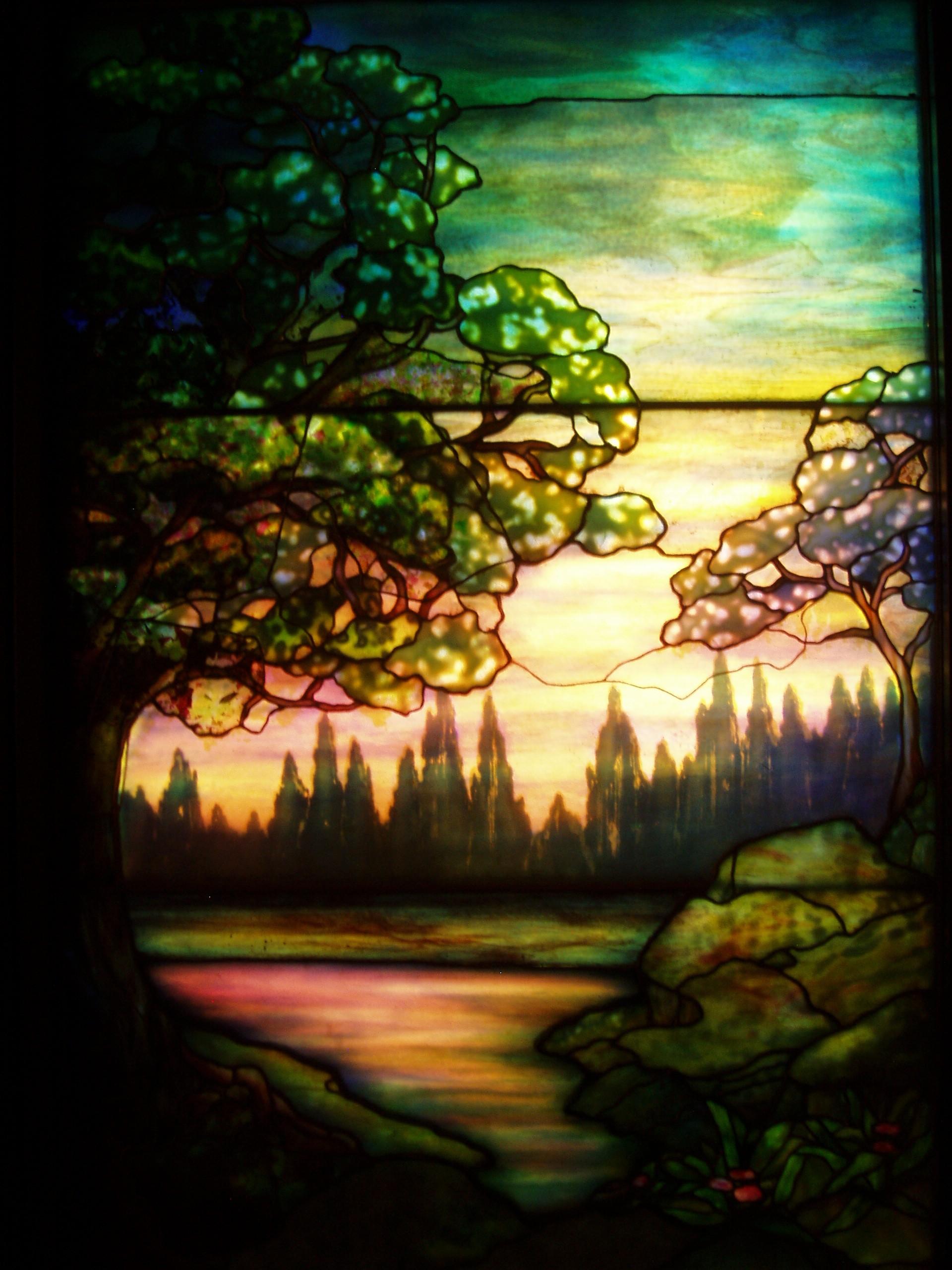 Painting On Glass Modern Art