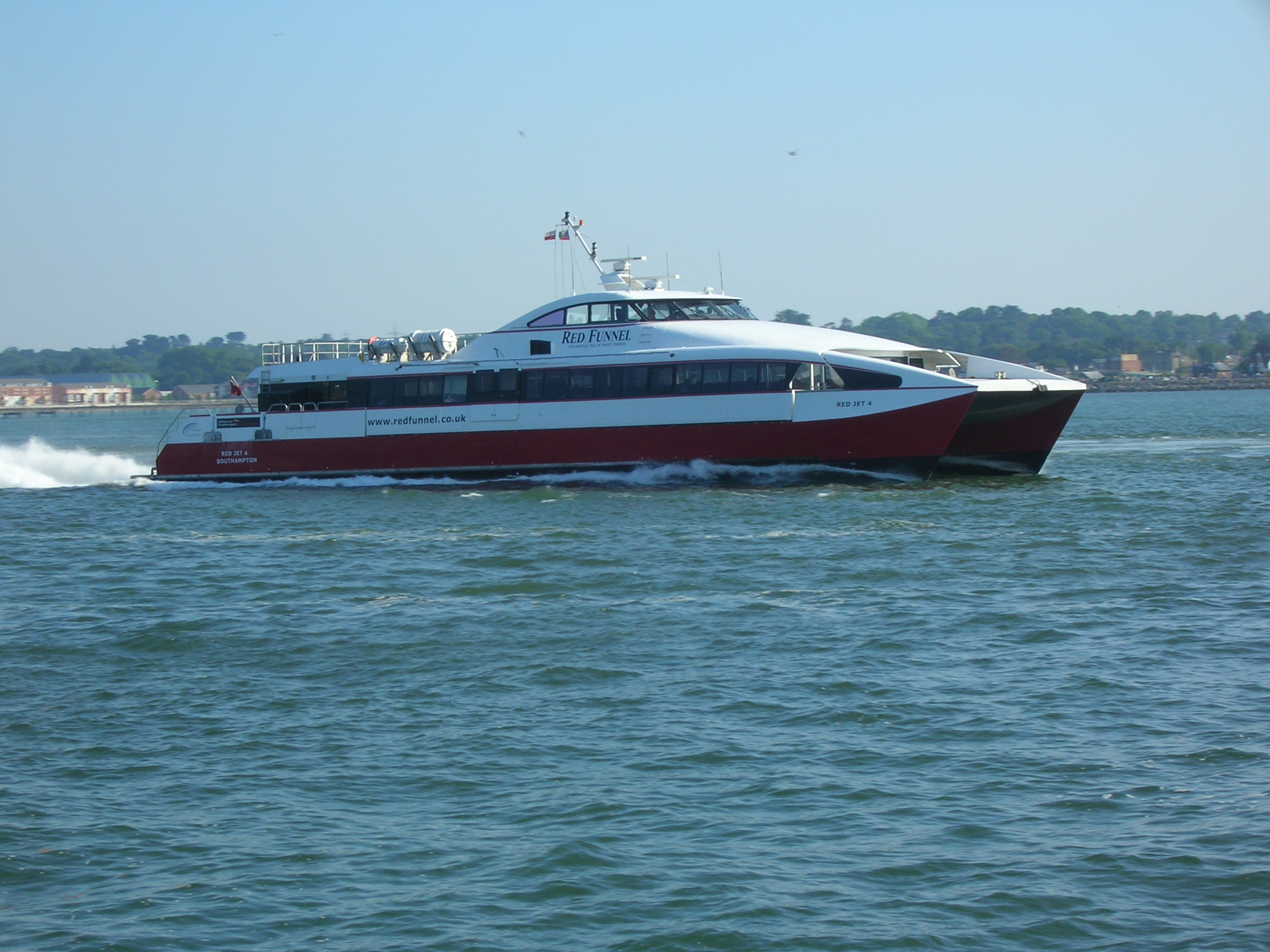 Fast Ferry To Block Island From Fall River