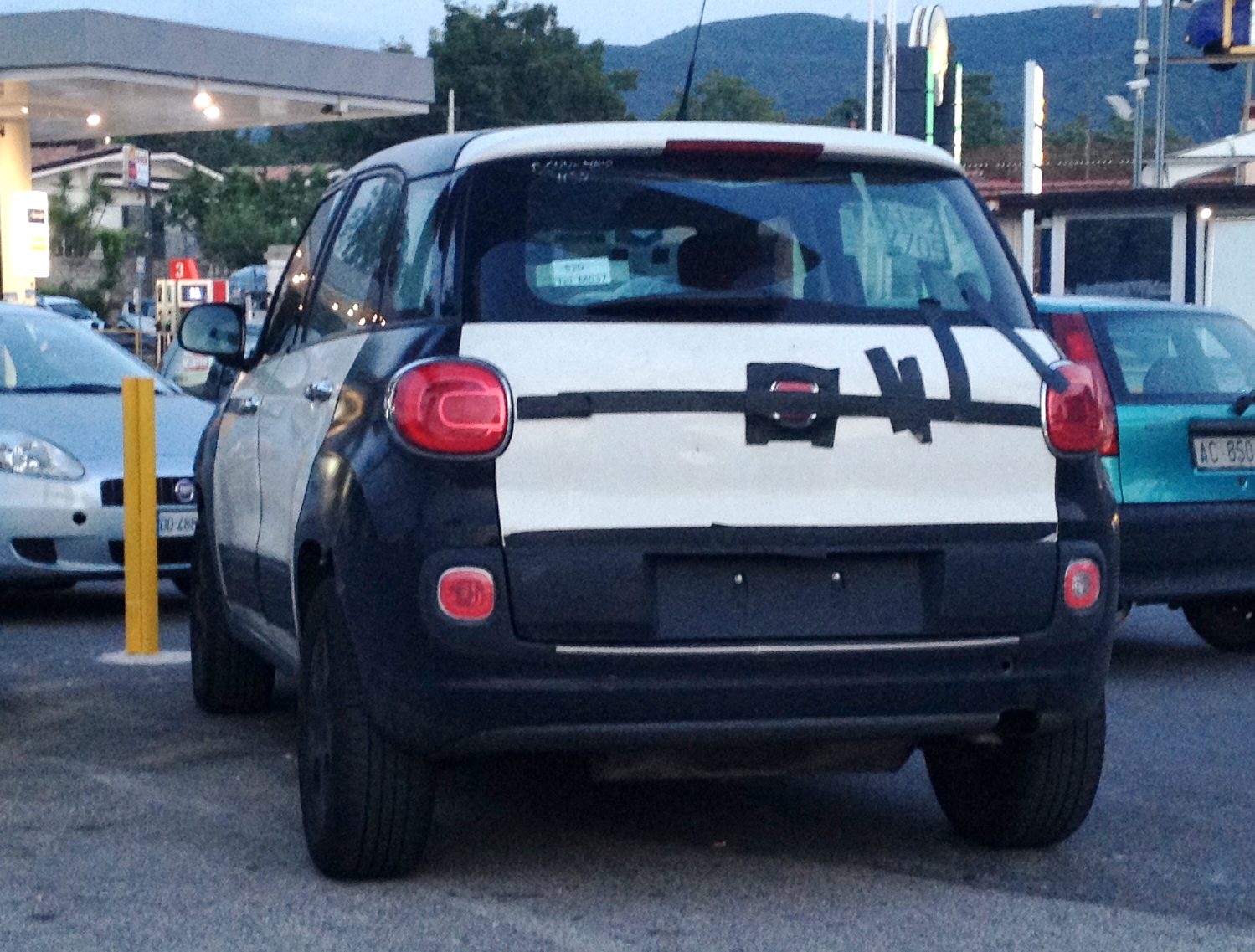 mule romeos pics as first spy crossover alfa looking news weird ever testing show test romeo fiat s continues