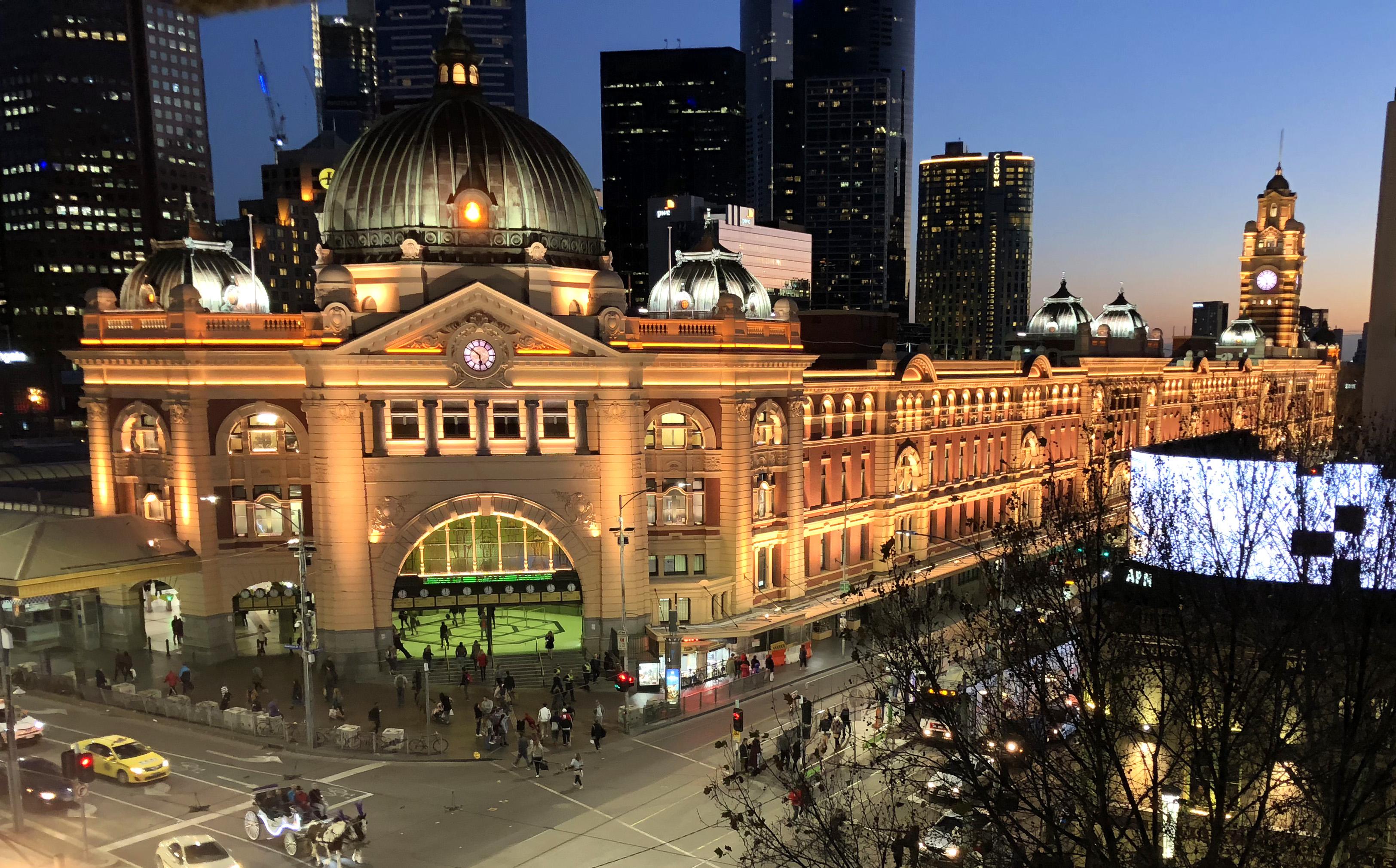 Flinders Street Railway Station Wikipedia
