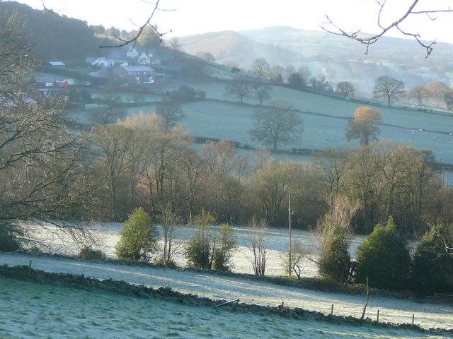 Frosty morning at Timbersbrook - geograph.org.uk - 1149855