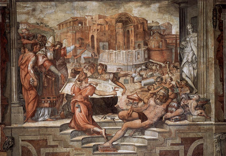 Vasari, Palazzo Cancelleria, Pope Julius III