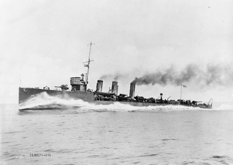 Lettre au Camarade Ministre Dimitrev HMS_Marmion_(1915)_IWM_SP_809