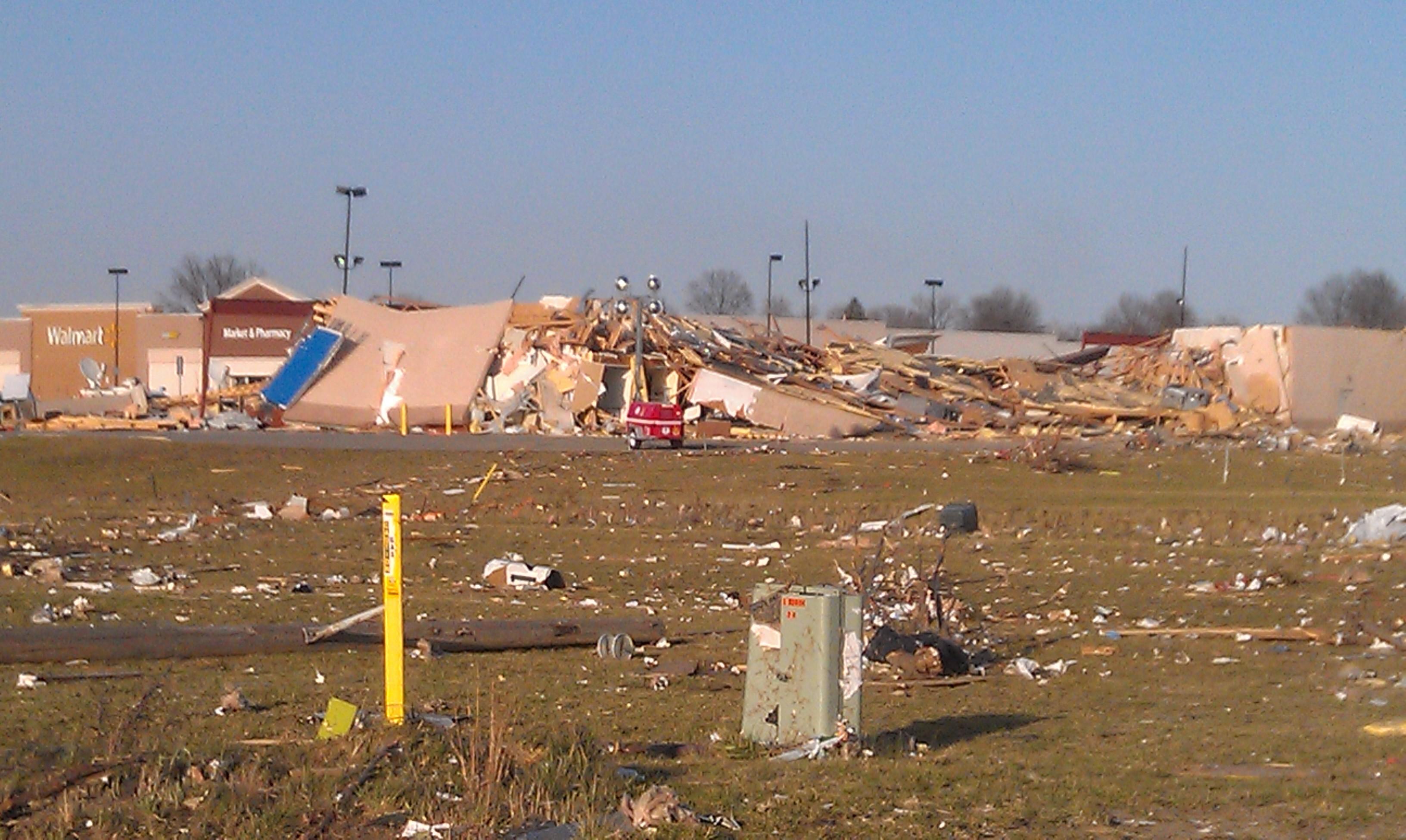FileHarrisburg Tornado 01 163338 Walmart Strip Mall And