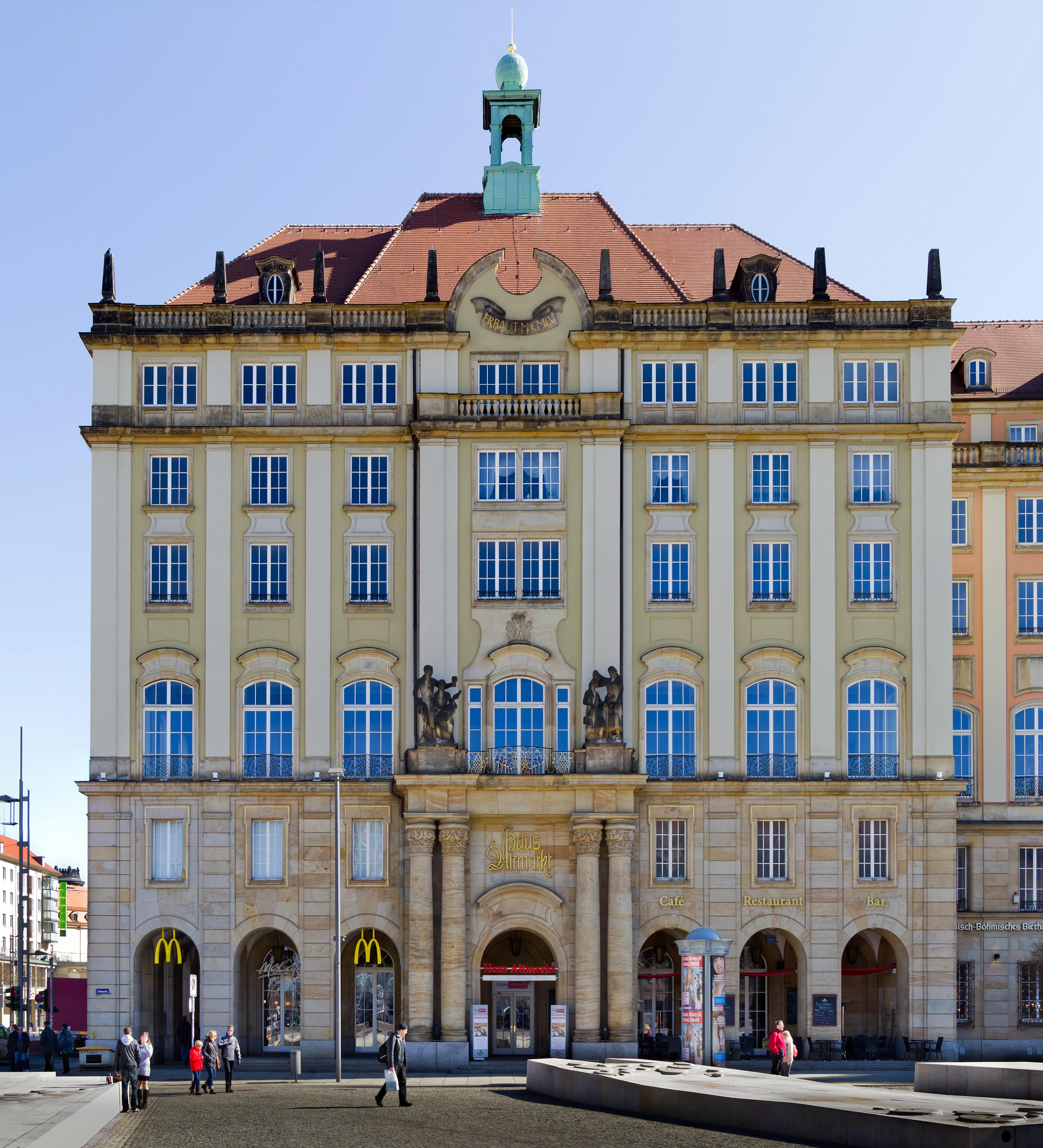 Haus Altmarkt Dresden Wikipedia