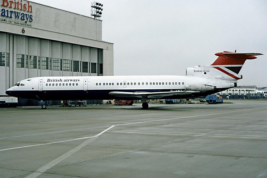 Hawker_Siddeley_HS-121_Trident_3B,_Briti