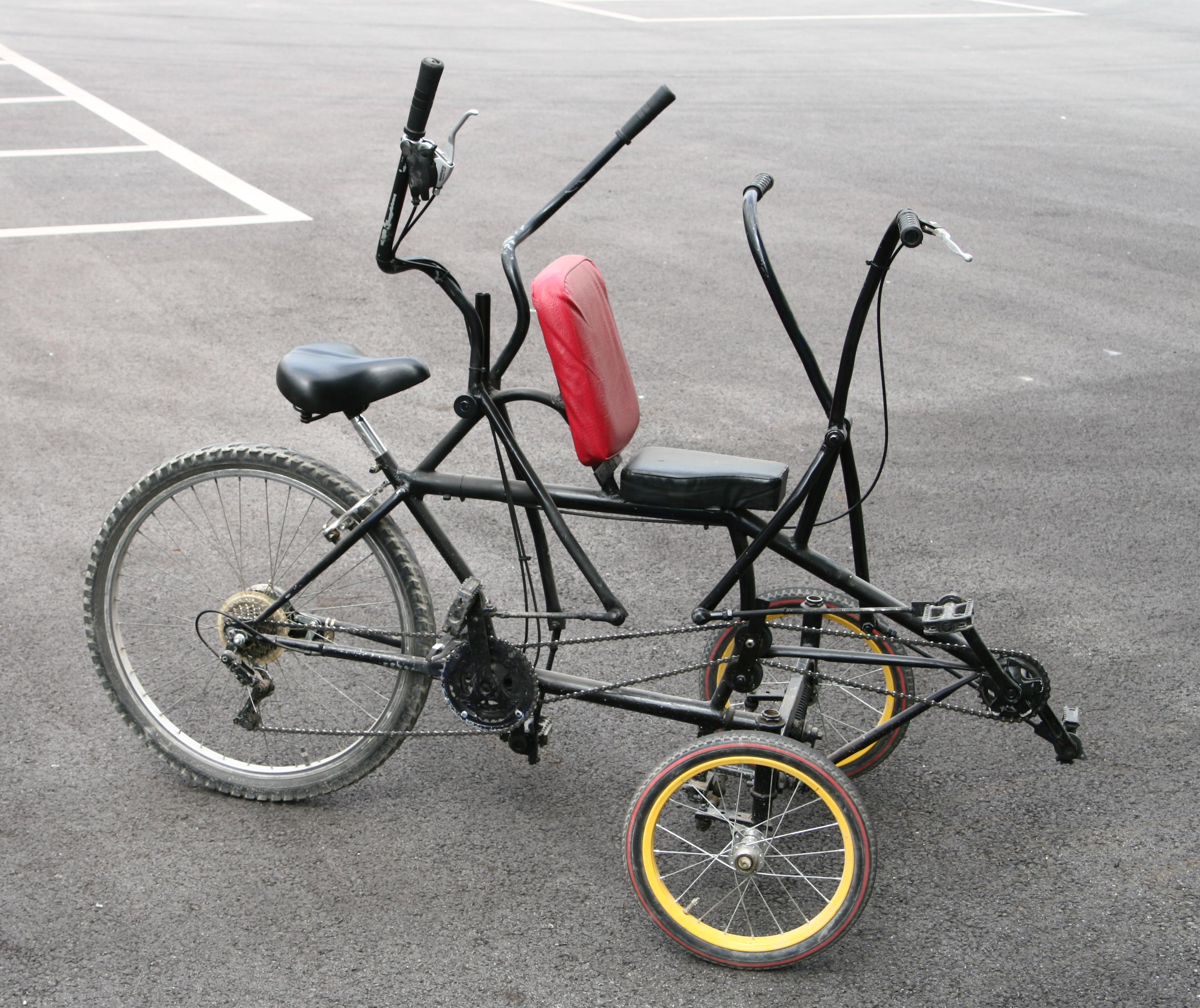 Tandem bicycle