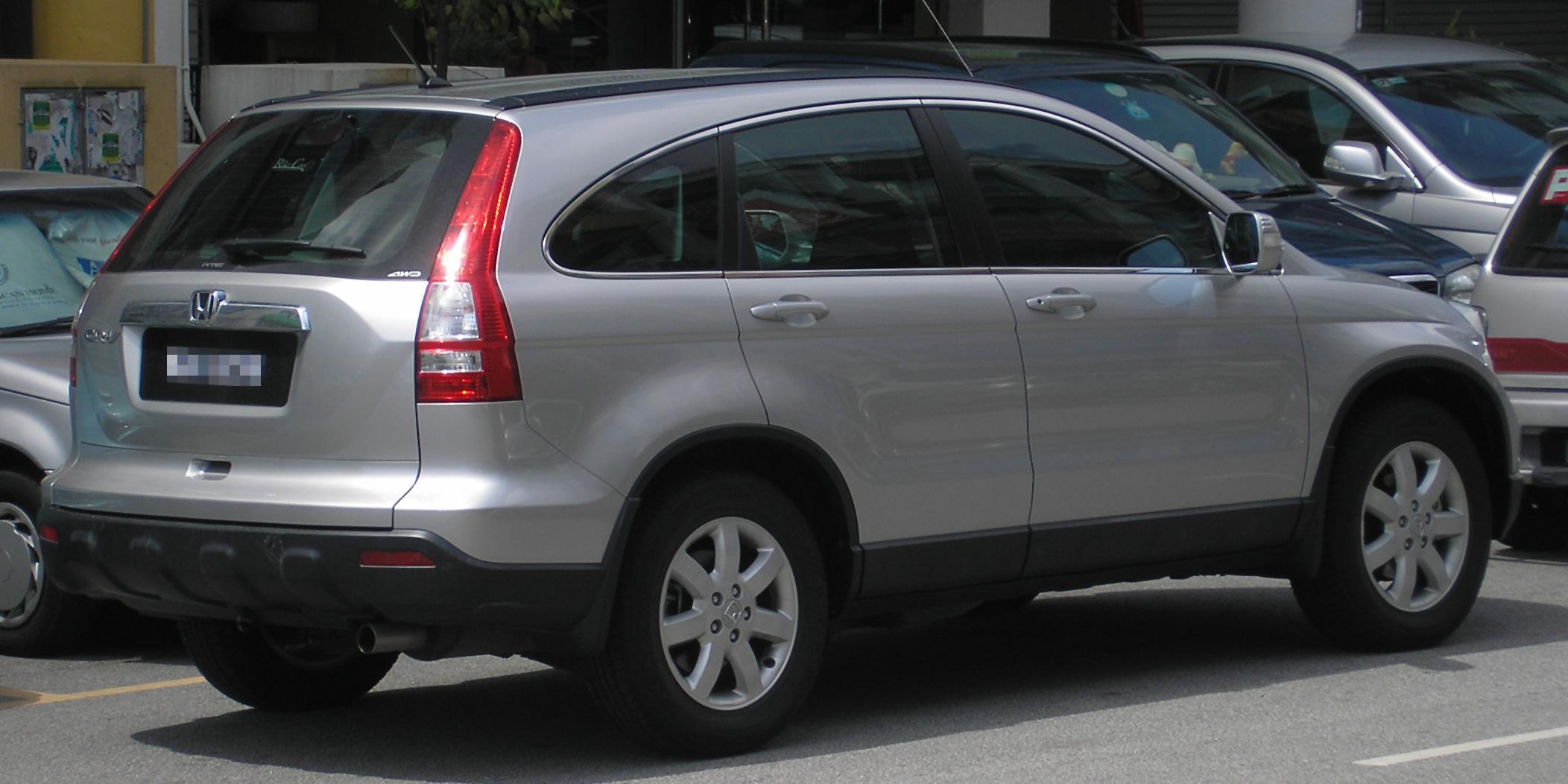 Honda crv generations
