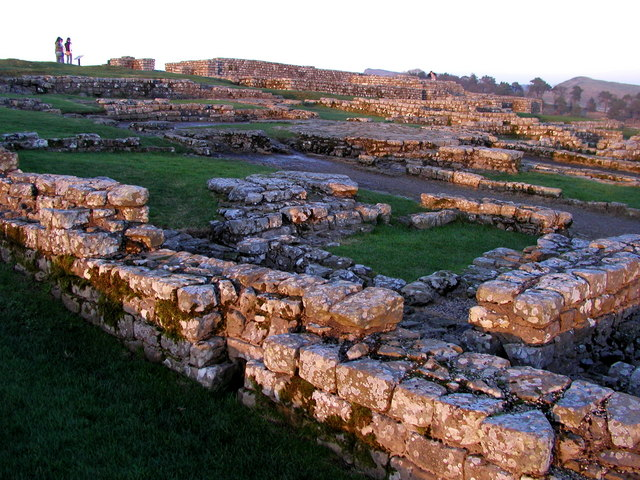 Housesteads at Sunset - geograph.org.uk - 351739