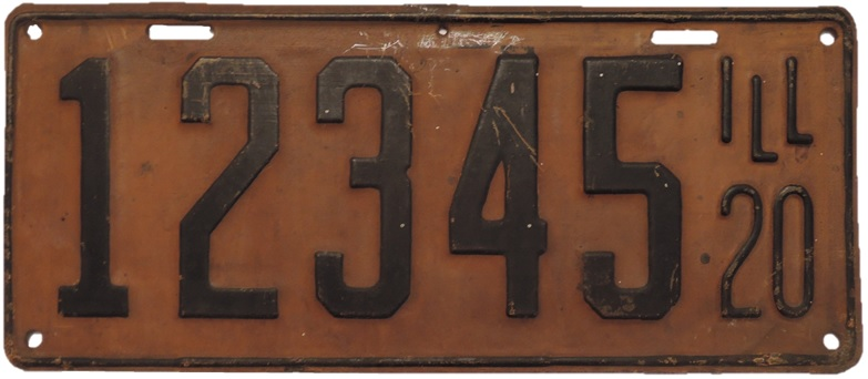 File:Illinois - 1920 license plate jpg - Wikipedia