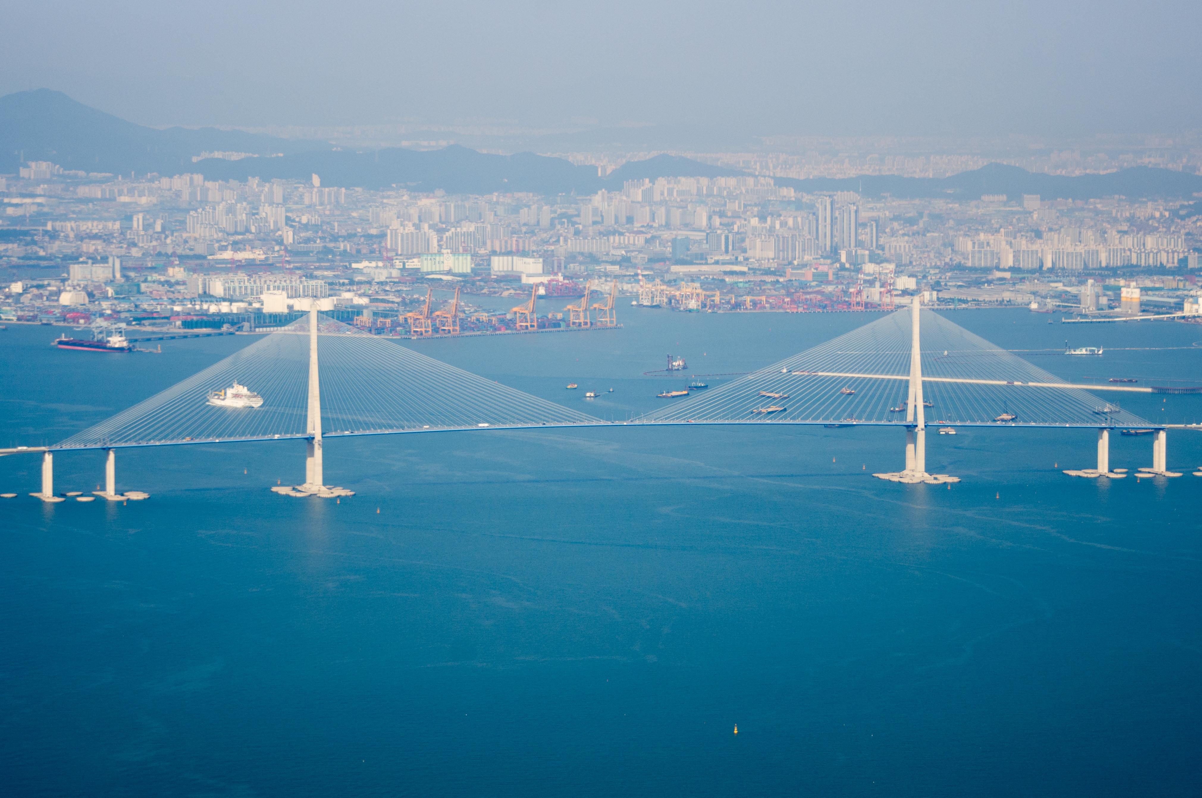 「仁川跨海大橋」的圖片搜尋結果