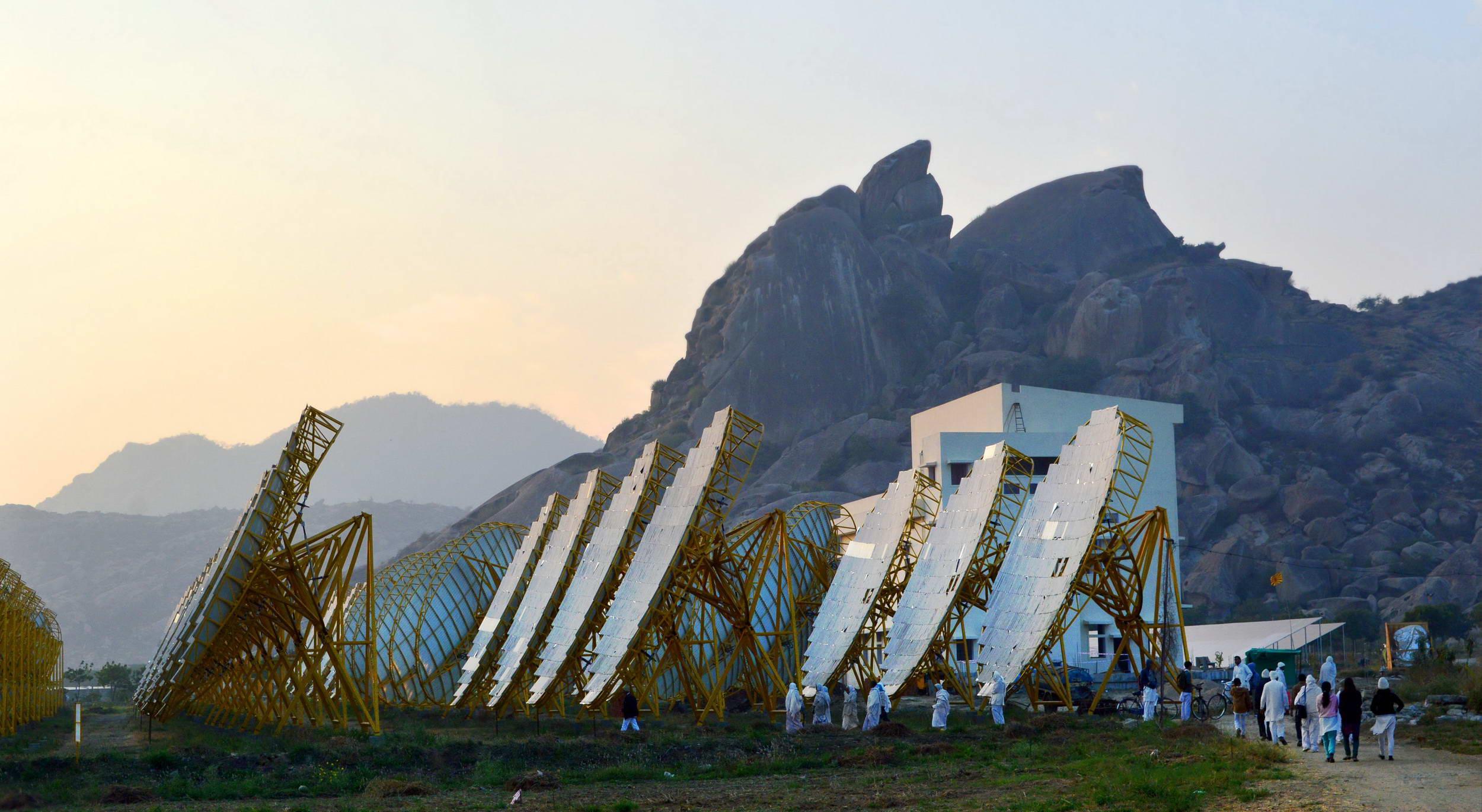 File India e Solar Thermal Power Plant India Brahma Kumaris