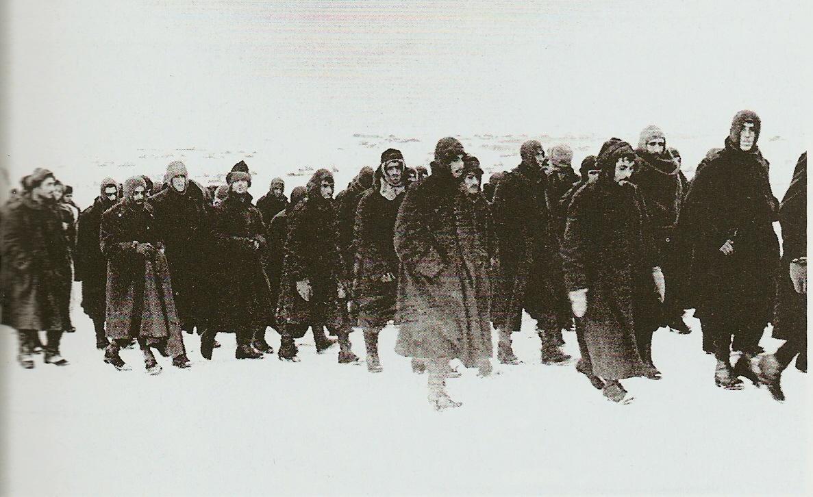 Du front russe aux partisans