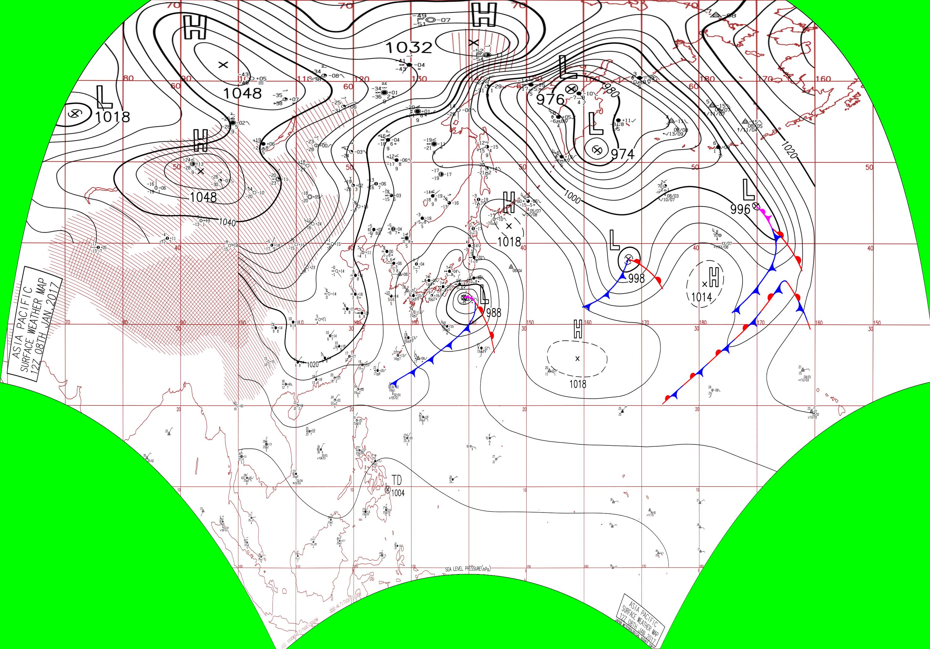 JMA Surface Analysis Chart 01-08-2017 12Z.png