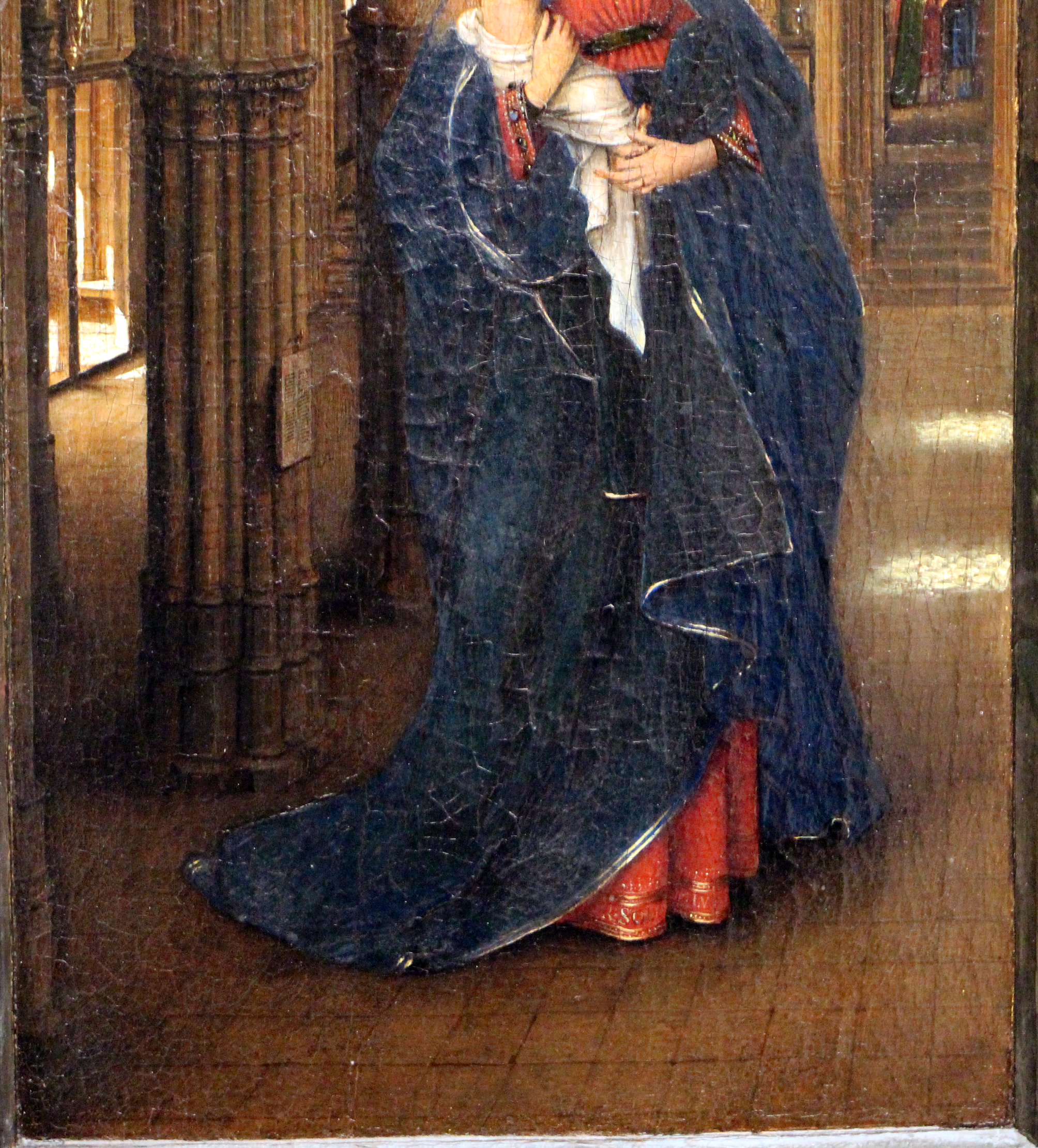 an analysis of the oil painting madonna in a church by jan van eyck Framed print fine art the madonna in the church - oil by jan van eyck , painting copy fine art the madonna in the church - oil by jan van eyck.