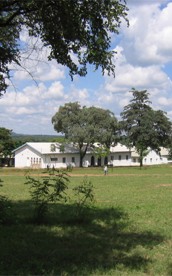 The nursing school at Karanda Mission Hospital, Zimbabwe