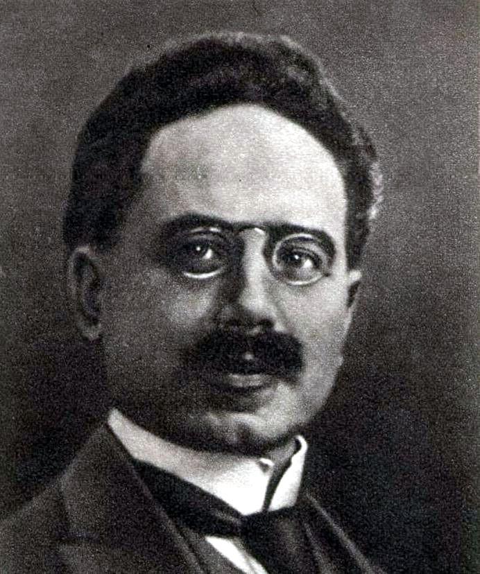 Depiction of Karl Liebknecht