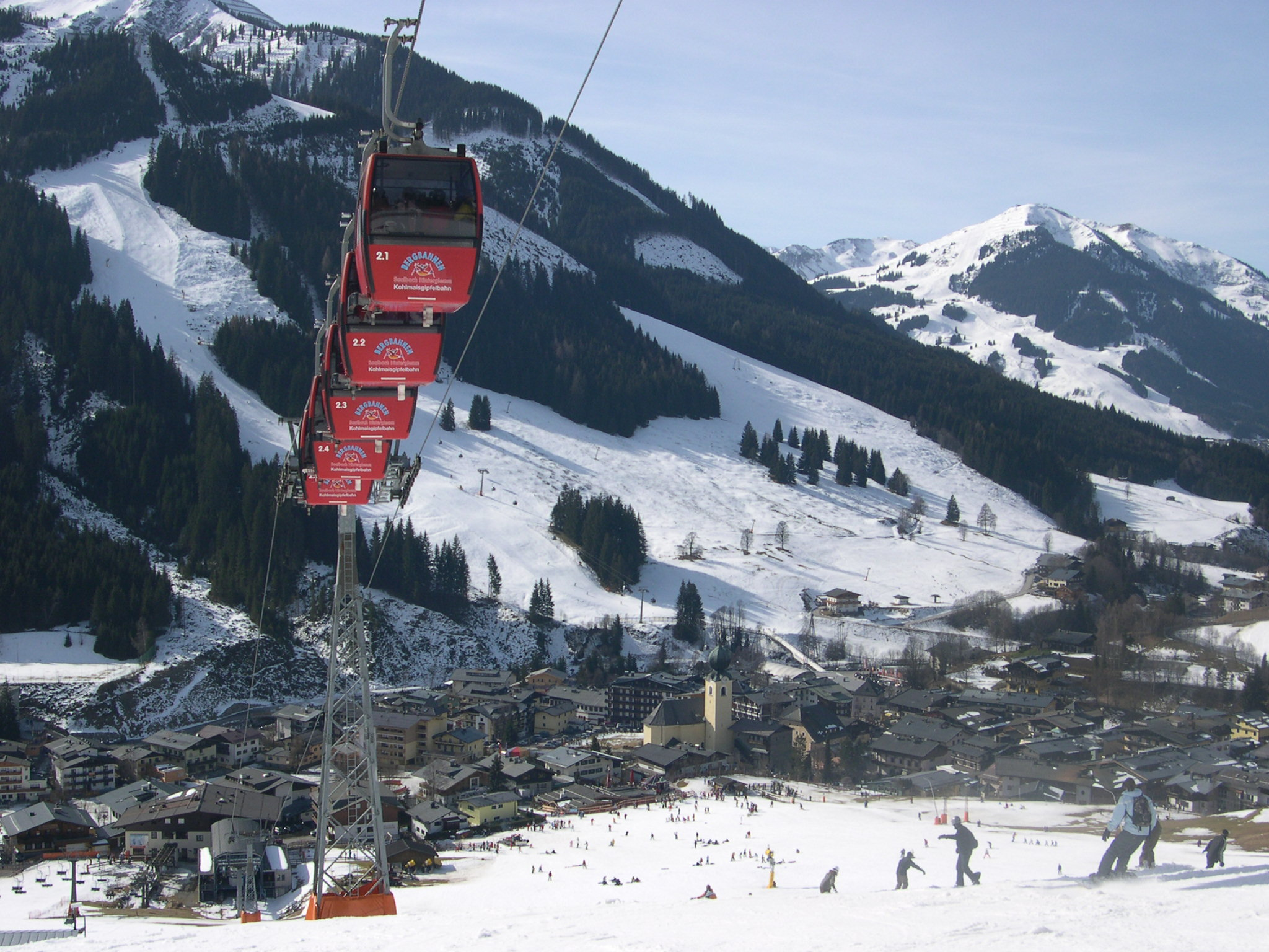 Ski in Zell am See