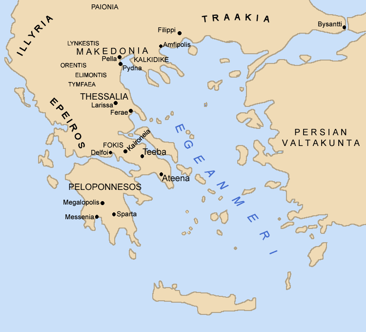 Kreikka Kartta