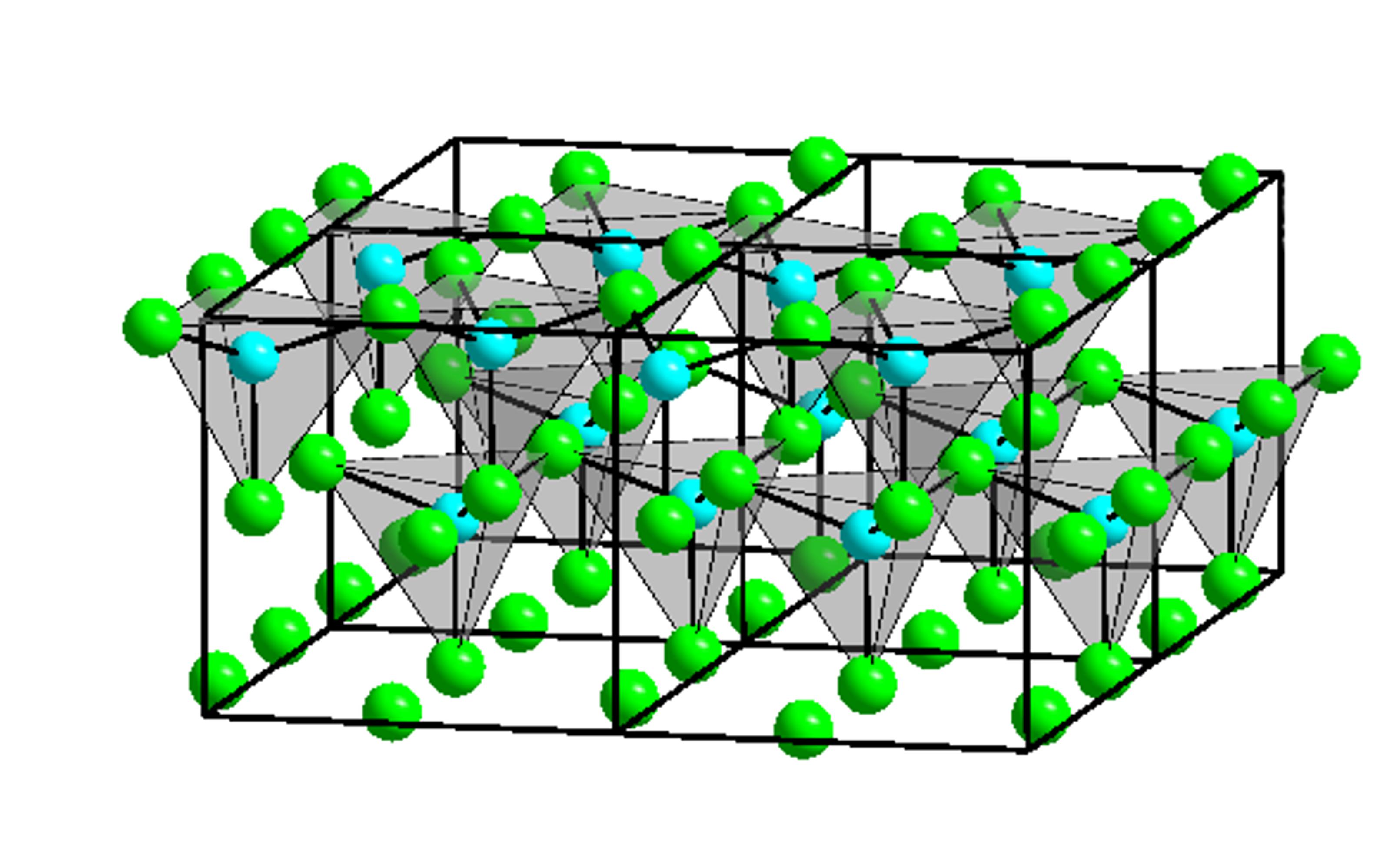 Strukturformel von Zinkiodid