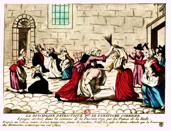 Les Fouetteuses Révolution française