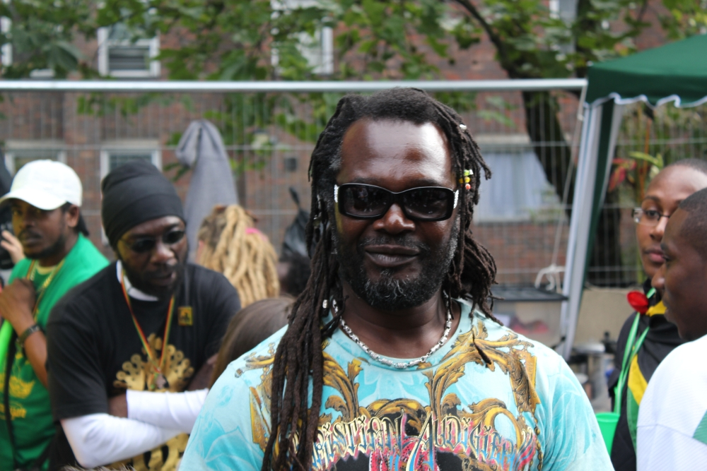The 60-year old son of father (?) and mother(?) Levi Roots in 2018 photo. Levi Roots earned a  million dollar salary - leaving the net worth at 45 million in 2018