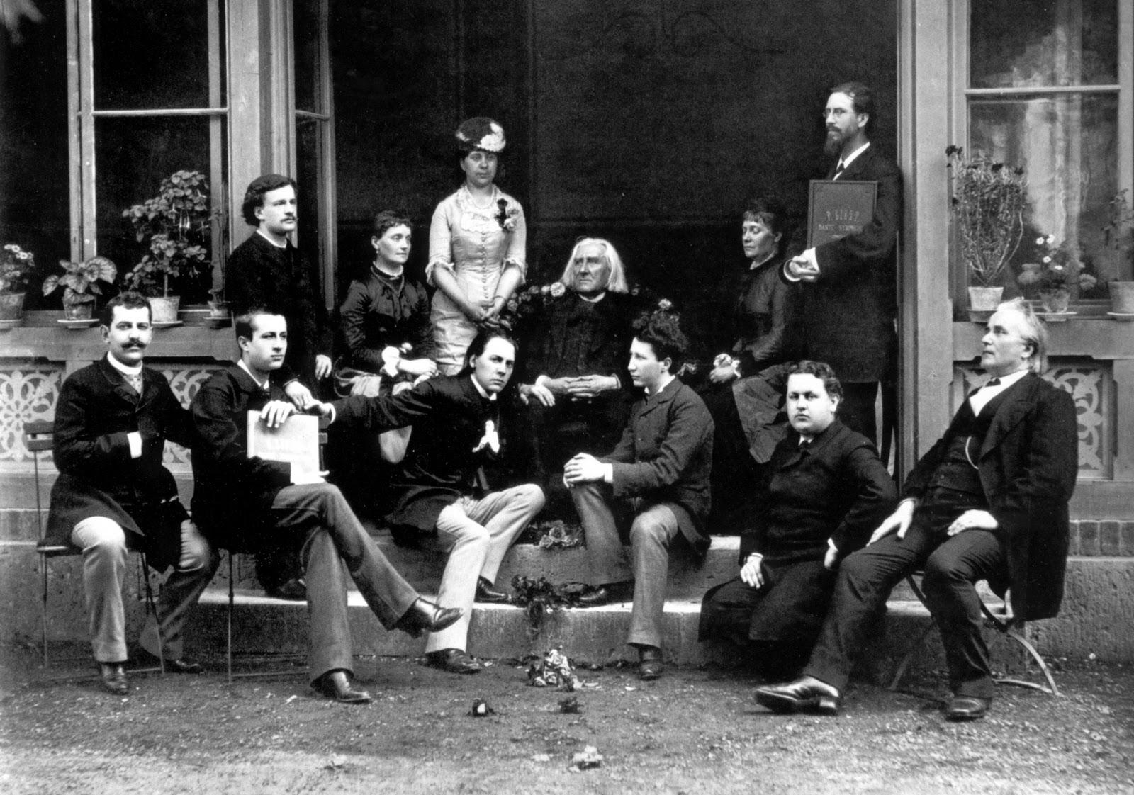 Liszt tanítványai körében