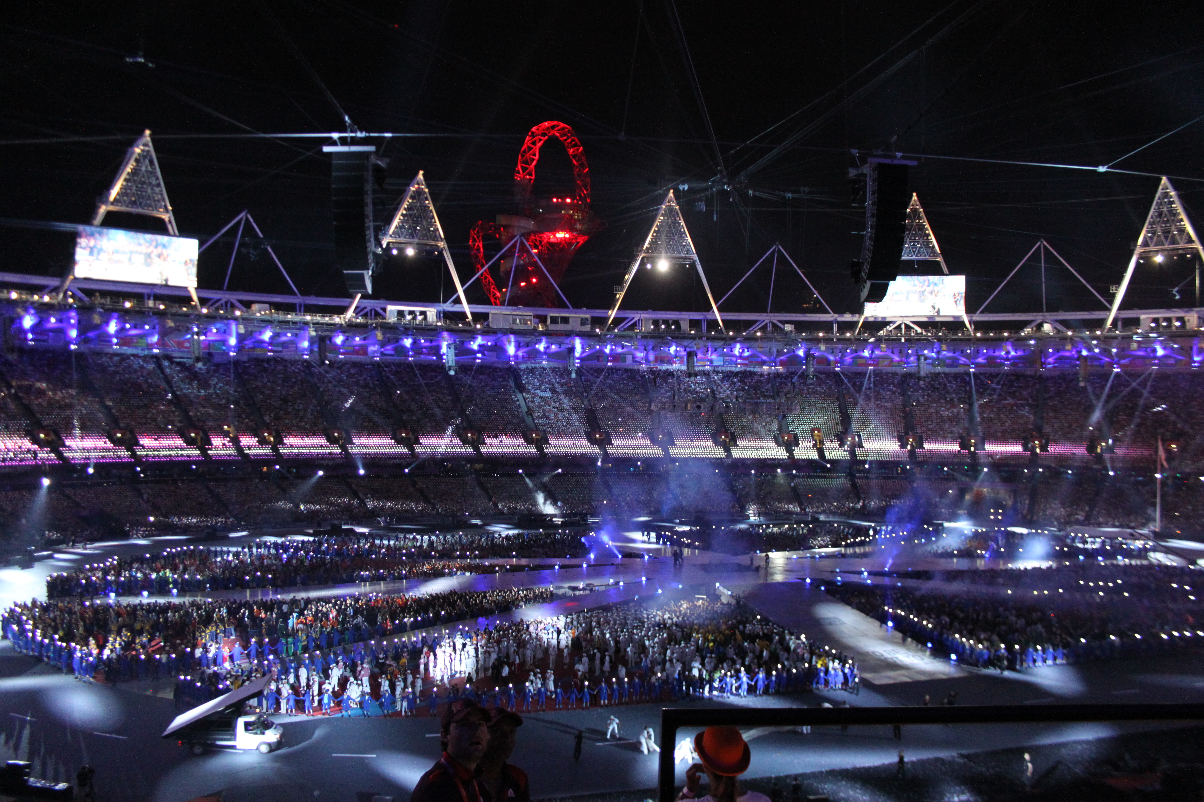 London 2012: the closing ceremony - in pictures | Ceremony