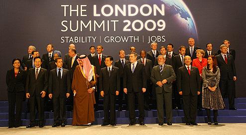 Depiction of Cumbre del G-20 de Londres